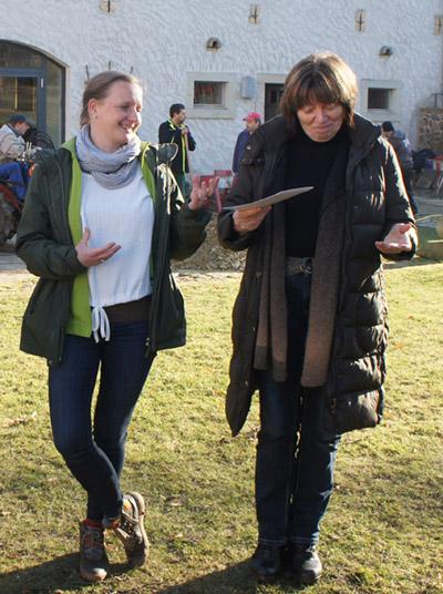 Katja Kaupisch und Karin Roscher